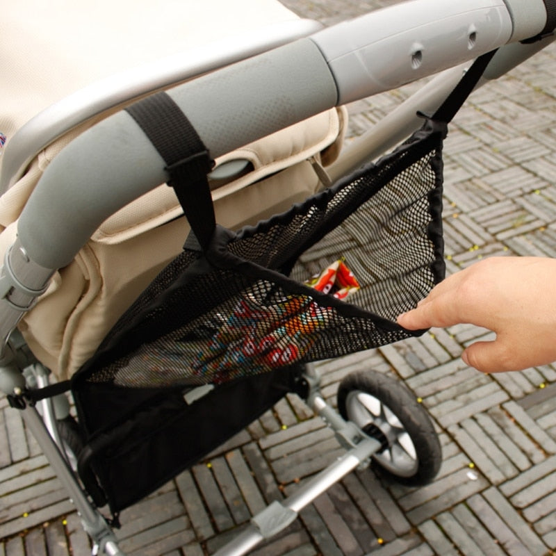 Practical Baby Trolley Bunch Net Organizer Bag Holder