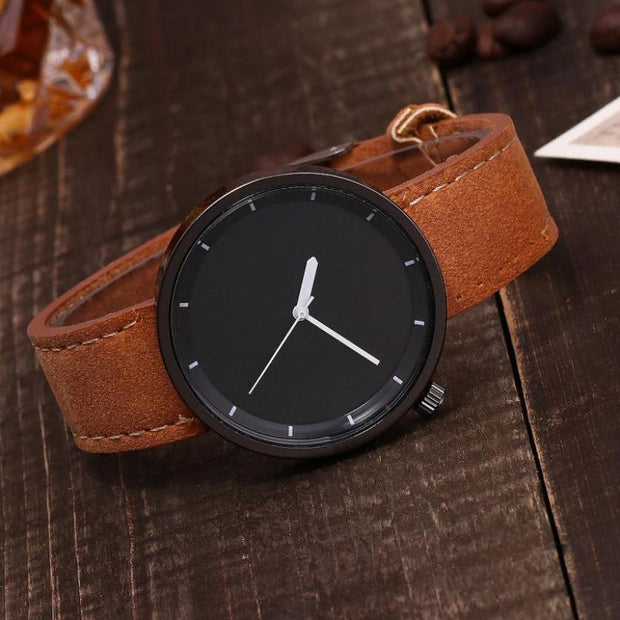 Quartz Watch Women  Leather  Bracelet Fashion  Wristwatches Quartz Steel Casual  Montre femme Watch  18FEB3