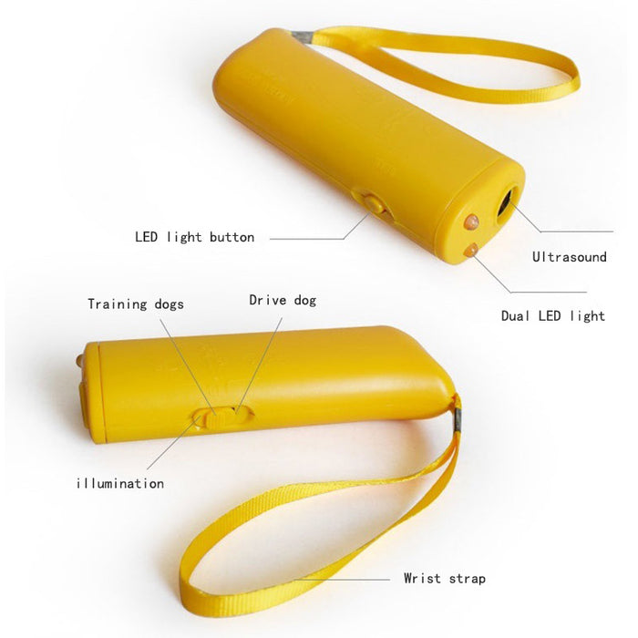 Pet Dog Repellent Anti Barking Stop Bark Training Device
