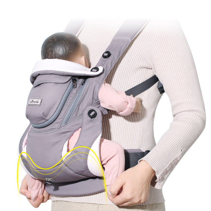 Breathable Front Facing Infant Baby Sling Backpack Baby Carrier - Toyzor.com