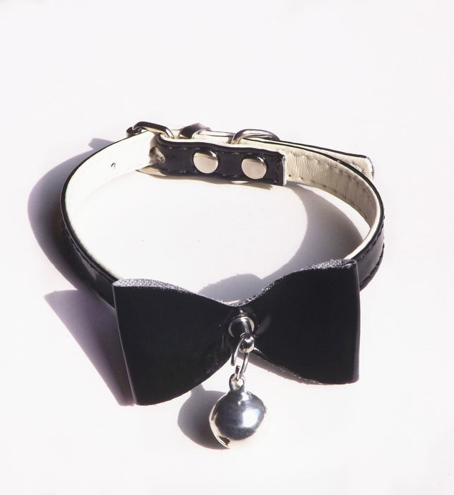 Safety Elastic Quick Release Bow Tie with Bell