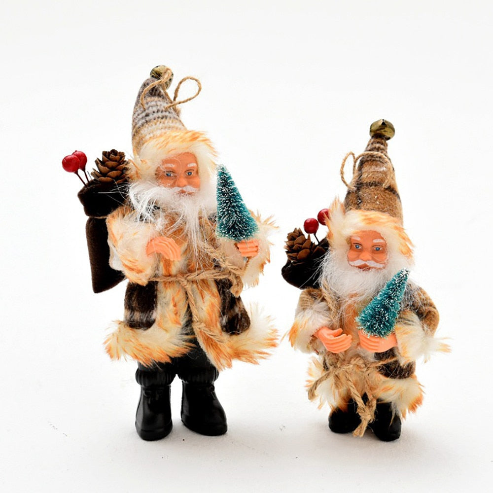 Santa Claus Flannel Doll Pendant Christmas Tree Exquisite Hanging Ornaments