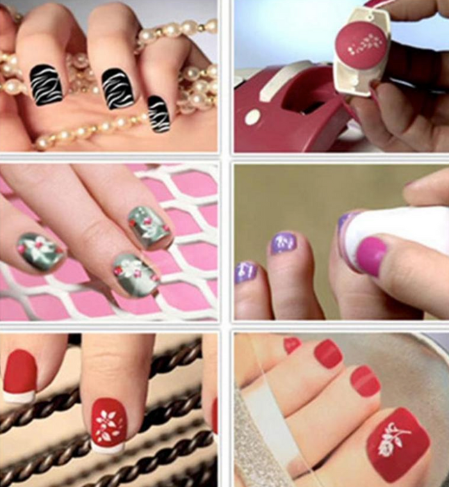 Amazing Nail Art Stamping Cosmetic Tool - Toyzor.com