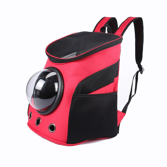 Pet Carrier Backpack Space For Cat/Dog