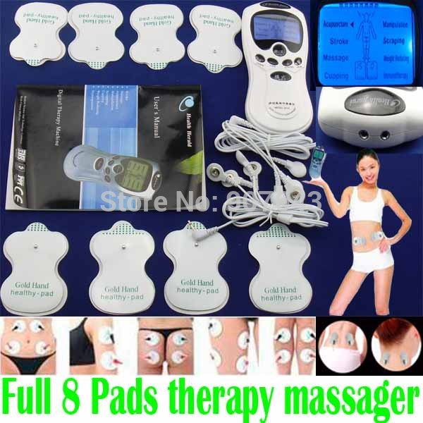 Slimming Digital Meridian Therapy Massager Machine