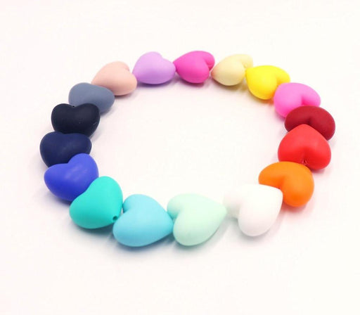 10 Pieces Silicone Baby Pacifier Beads Teething Chewable
