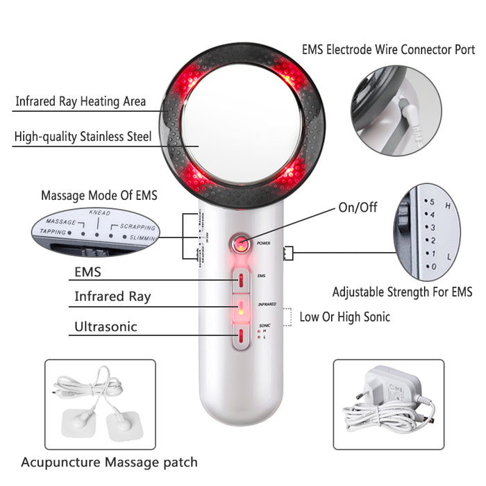 Ultrasound Body Slimming Massager - Toyzor.com
