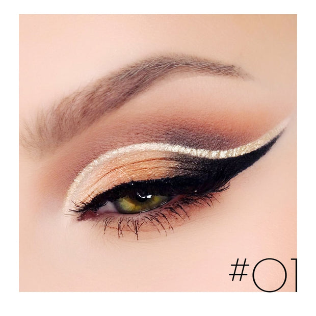 Waterproof Shimmer Diamond Pigment Eye Liner Pencil