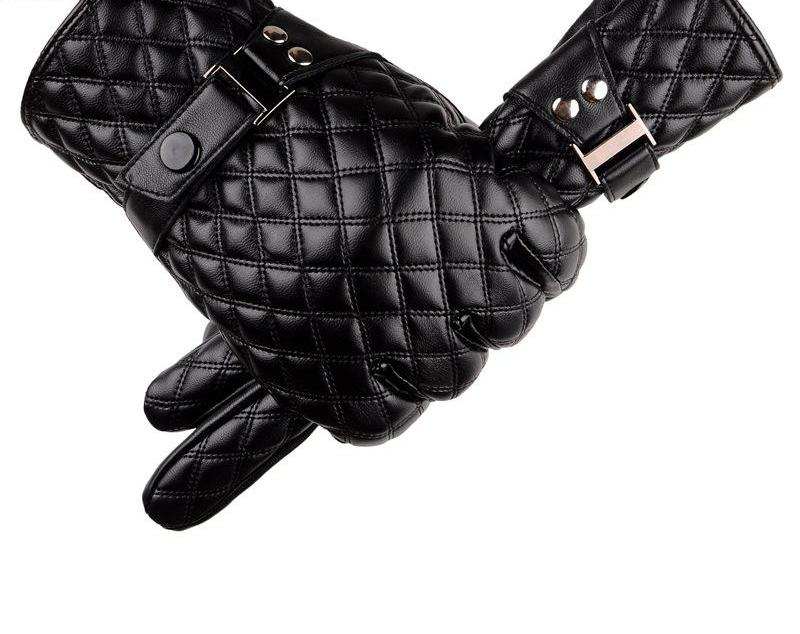 Genuine Leather Goatskin Gloves