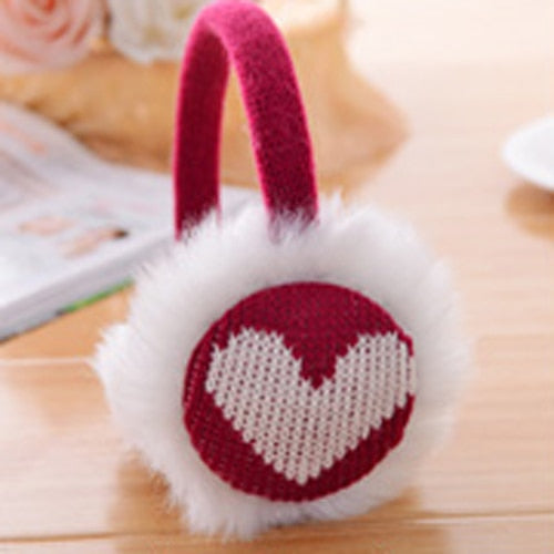 Fluffy plush Fur Earmuffs