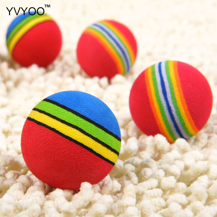 Lovely Jump Ball Color Stripe Environmental Health Toy