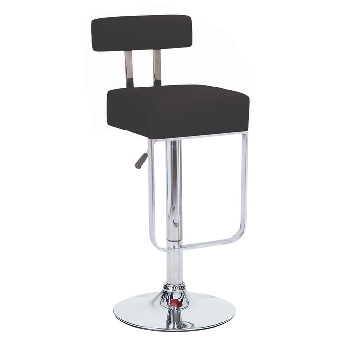 Leather Bar/Counter Stool Adjustable Height