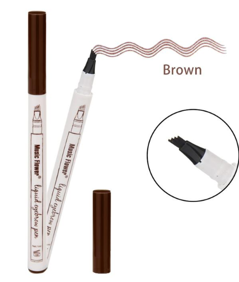 Waterproof Fine Sketch Liquid Eyebrow Pen - Toyzor.com