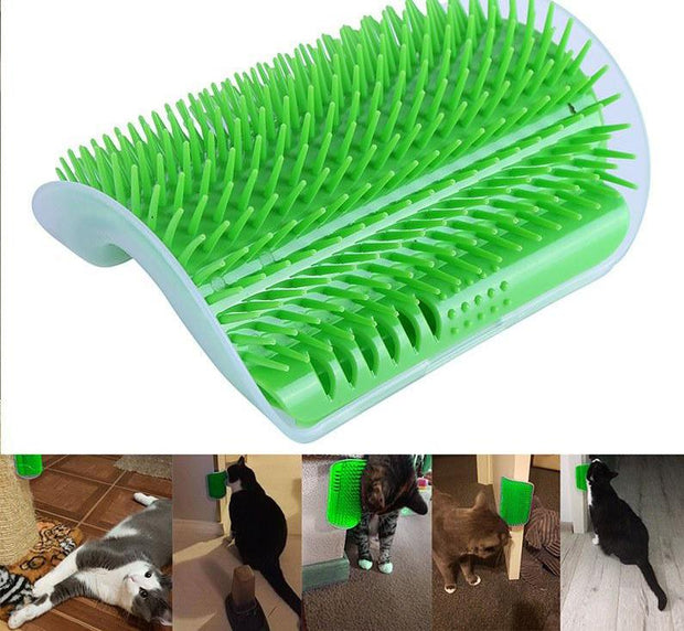Pet Products Brush Massage Machine Plastic Carding