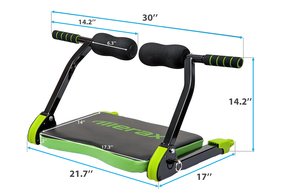 Ab Workout Fitness Trainer Home Gym Equipment