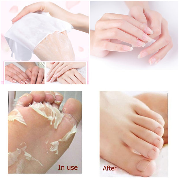 SPA Smooth Exfoliating Feet and Hand Care - Pedicure/Manicure - Toyzor.com