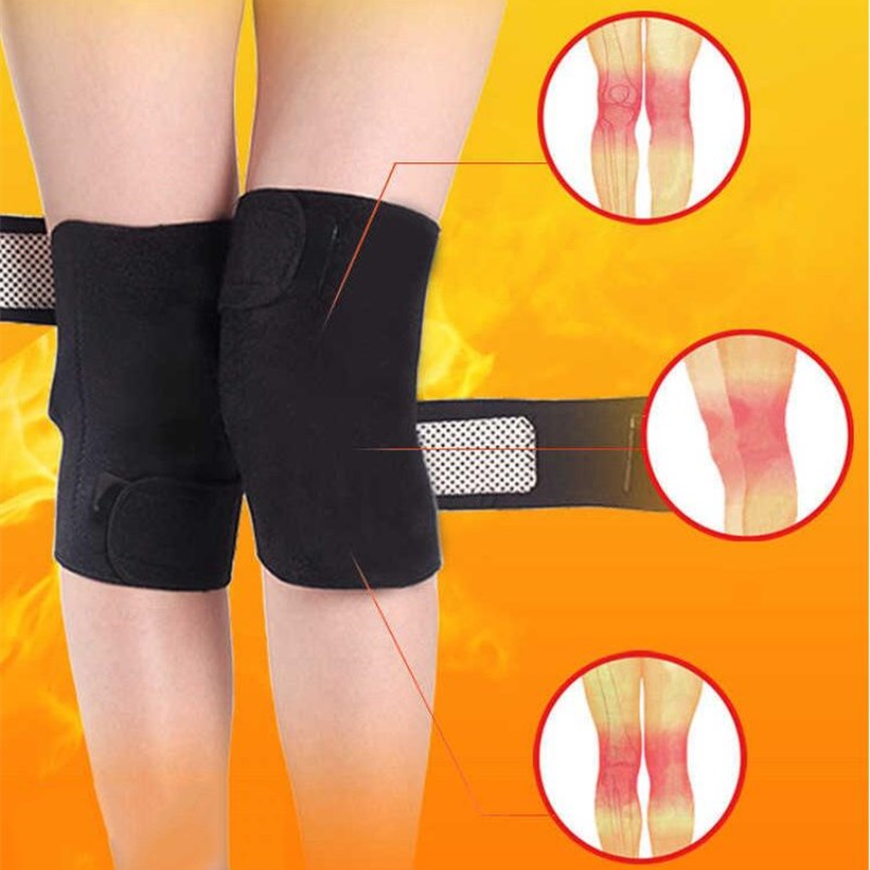 Tourmaline Self-Heating  Knee Brace - 1 Pc - Toyzor.com