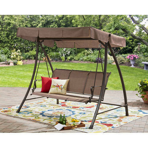 Sling Canopy Patio Swing