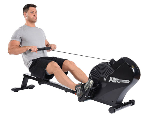 AIR ROWER Cardio Fitness Exercise Rowing Machine - 2020