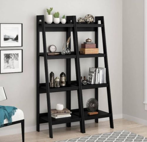 Small Leaning Ladder Bookshelf