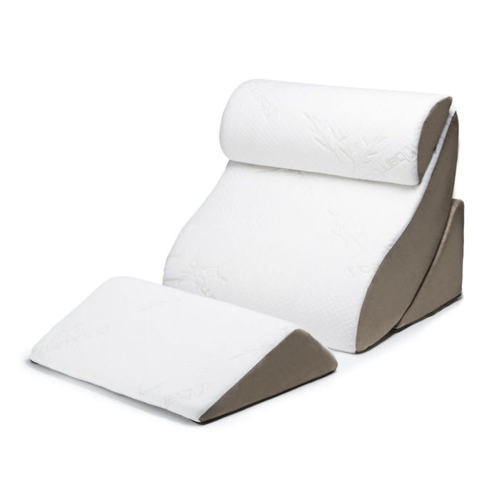 Orthopedic Support Pillow Comfort System with Bamboo Cover