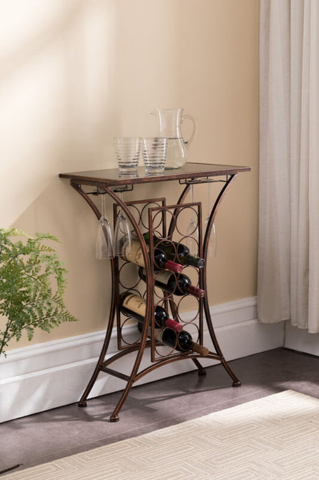Free Standing Wine Storage Organizer Rack Display Stand