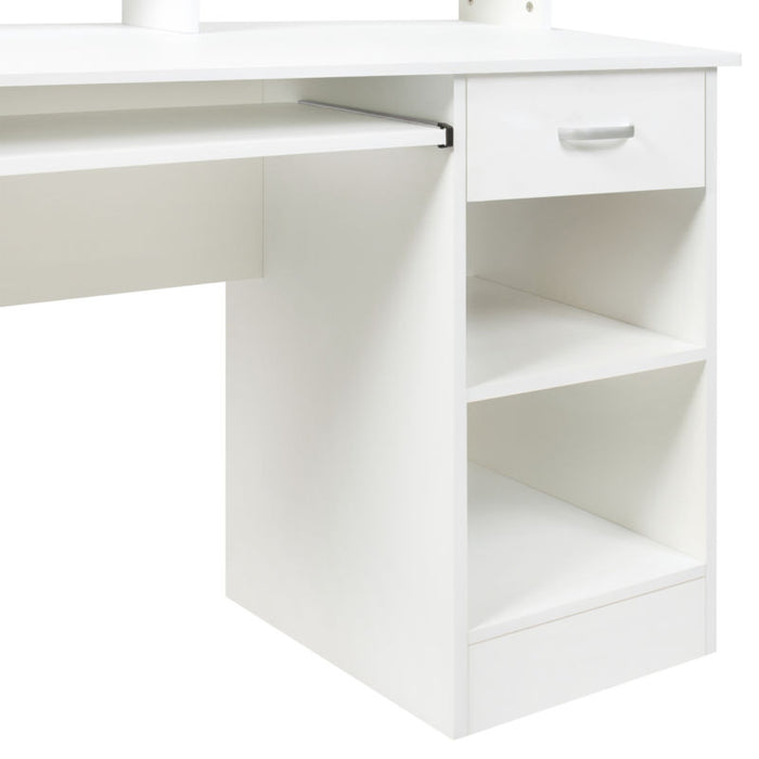 White Computer Desk Furniture for Work Station
