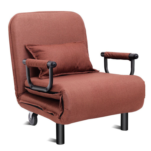 Convertible Recliner Sofa Bed Folding Arm Chair