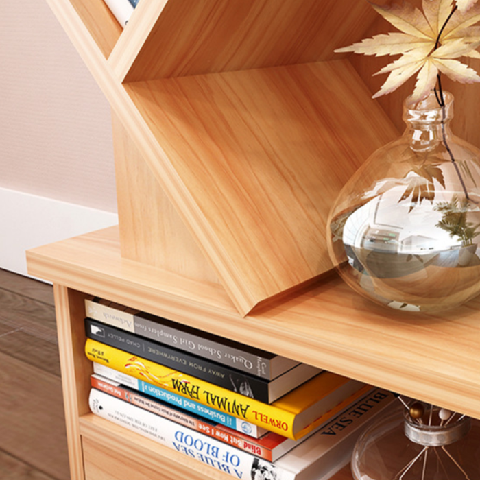 Wooden Bookcase /CD  Shelf Stand - Toyzor.com