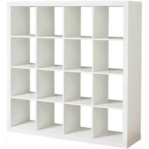 16 Cube Shelves Organizer Bookshelf