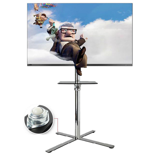 LED LCD outdoor Mobile TV Cart Stand Mount Shelf