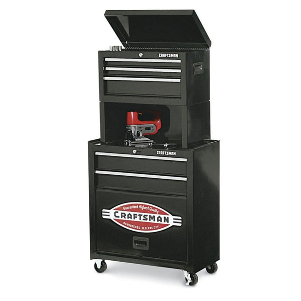 Craftsman Rolling Tool Cabinet Storage Drawer Chest Garage Toolbox Organizer