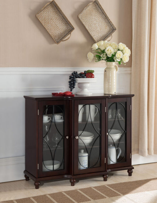 Wood Storage Buffet Cabinet Console Table