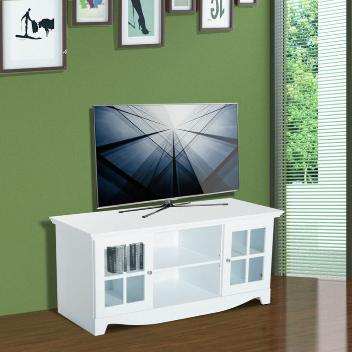 "56"" TV Stand Entertainment Media Center Console"