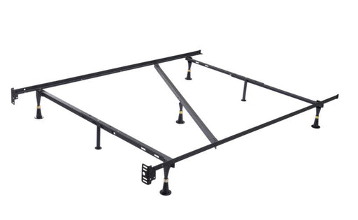7-Leg Heavy Duty Metal Full Size Bed Frame with Center Support and Glides