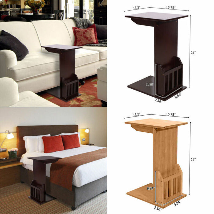 Coffee Tray Side Sofa Table Ottoman