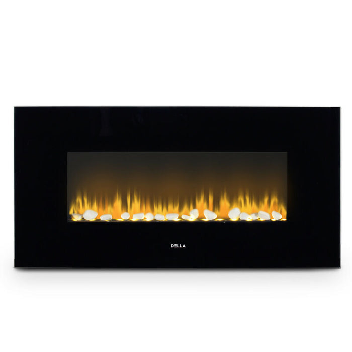 Wall Mount Fireplace Heat Flame w/ Remote Control