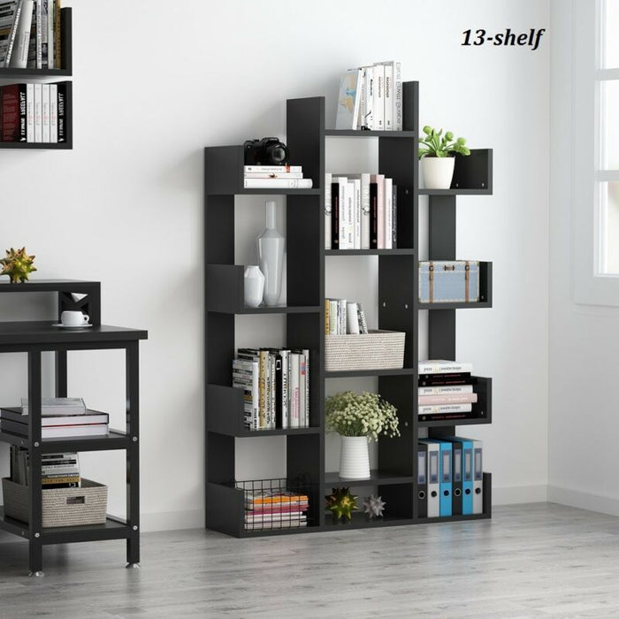 Modern 8/13 Shelf Tree Bookshelf for Records Books