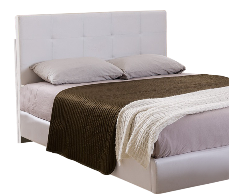 Tufted Design Upholstered Adjustable Full / Queen Headboard
