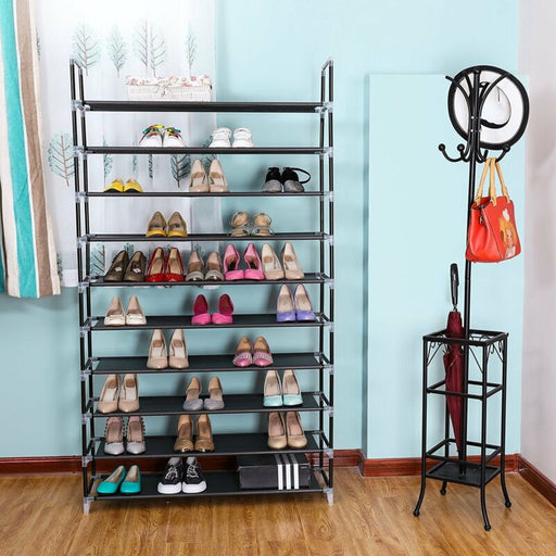 5/10 Tier Cabinet Shelf Shoe Tower Rack