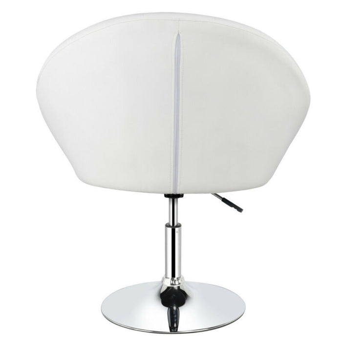 Fine Adjustable Modern Round Tufted Back Accent Salon Vanity Chair Pub Counter Stools Forskolin Free Trial Chair Design Images Forskolin Free Trialorg