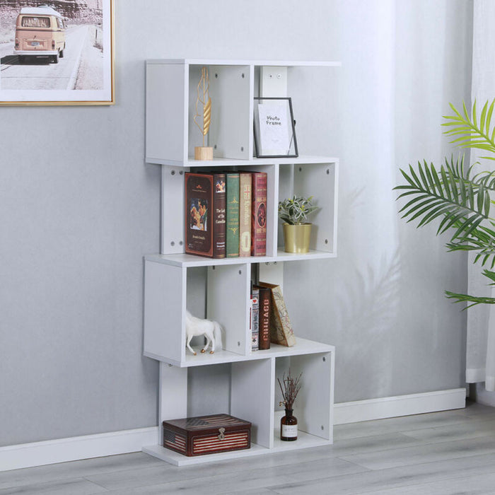 Bookcase Desktop Wood Rack