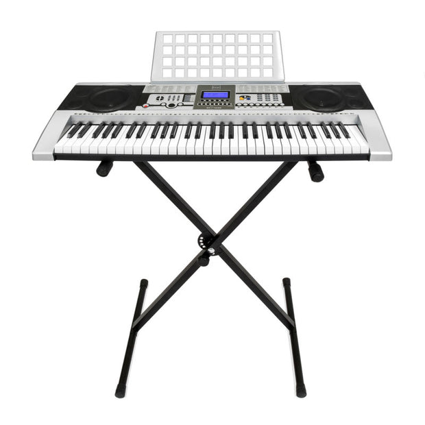 61 Key Electronic Keyboard w/ X-Stand