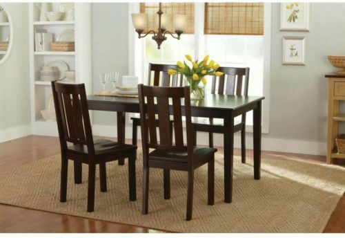 Farmhouse Solid Wood Kitchen Dining Seat - 2 Pc Set