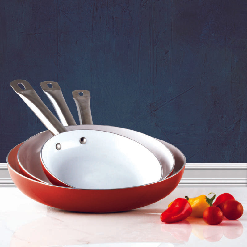 3 Pack Healthy Ceramic Frying Nonstick Pan Set - Toyzor.com