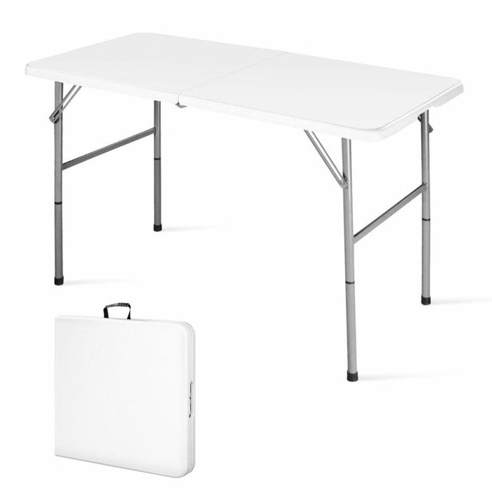 4' Indoor Outdoor Folding Table Portable
