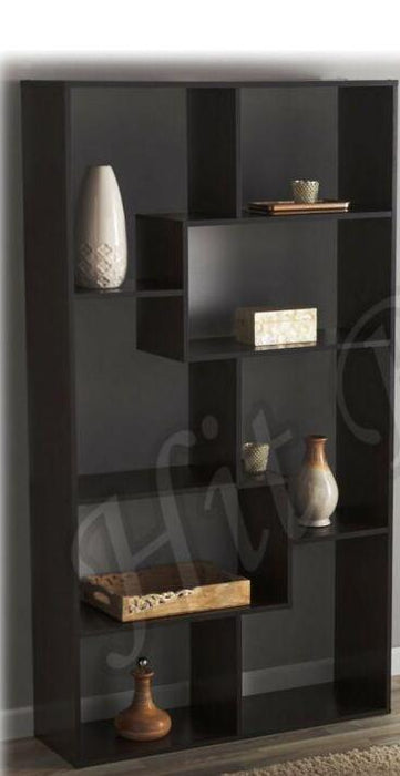 Cube Open Bookshelf Modern 8 Shelf Display Furniture