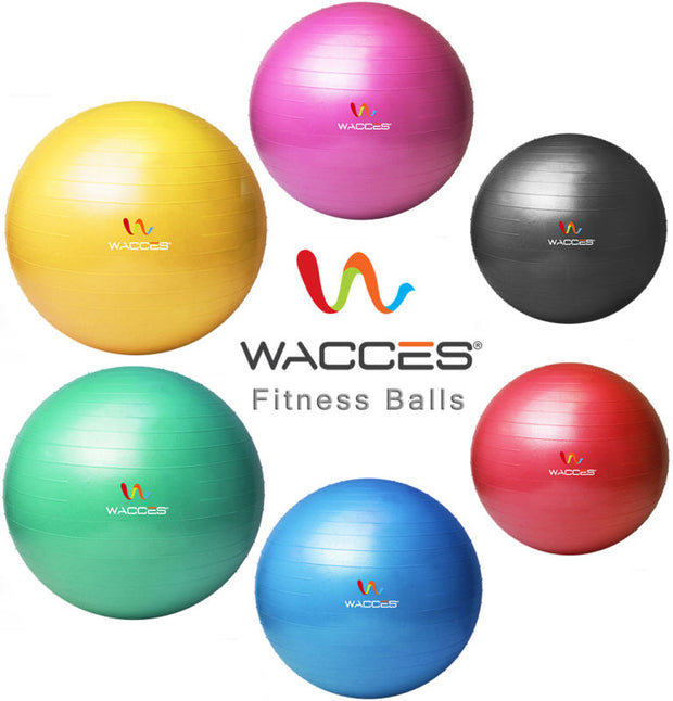 Exercise Ball & Air Pump for Yoga Fitness