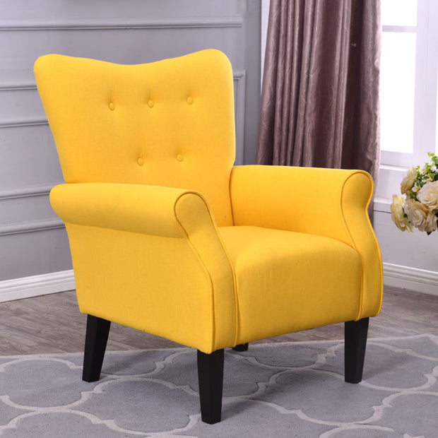 Modern Fabric Living Room Chair