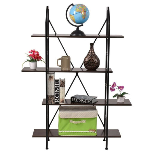 4 Layers Wooden Bookshelf Storage Organizer